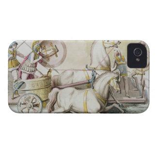 "Aurigas romanos, del ""dei de Costumi Romani"", engr Case-Mate iPhone 4 Carcasa"