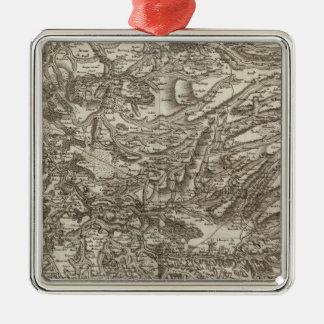 Aurillac Metal Ornament
