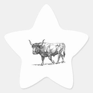 Aurochs Star Sticker