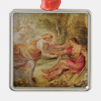 Aurora Abducting Cephalus, 1636 Christmas Ornament