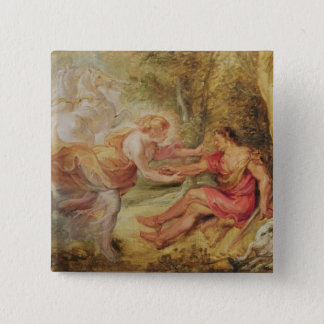 Aurora Abducting Cephalus, 1636 Pinback Button