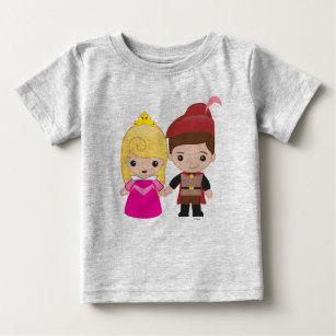 Aurora and Prince Philip Emoji 2 Baby T-Shirt