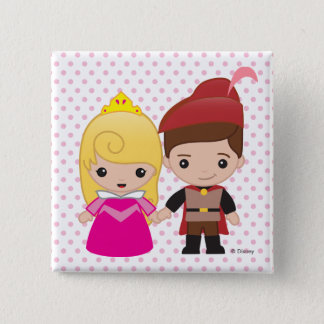 Aurora and Prince Philip Emoji Button