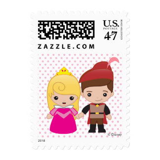 Aurora and Prince Philip Emoji Postage
