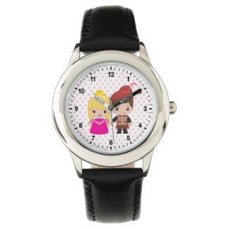 Aurora and Prince Philip Emoji Wristwatch