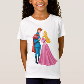 Aurora and Prince Phillip Holding Hands T-Shirt