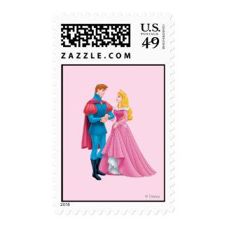 Aurora and Prince Phillip Stamp