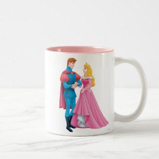Aurora and Prince Phillip Two-Tone Coffee Mug