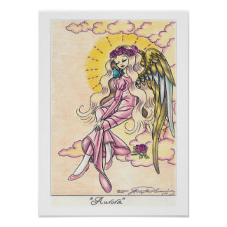 """Aurora"" Angel Print"