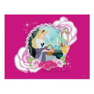 Aurora - apacible y agraciada tarjeta postal