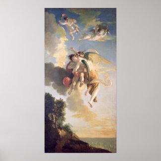Aurora Ascending the Heavens Poster