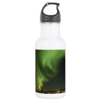 Aurora at Bear Lake. Stainless Steel Water Bottle