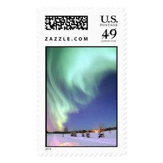 Aurora - aurora boreal hermosa franqueo
