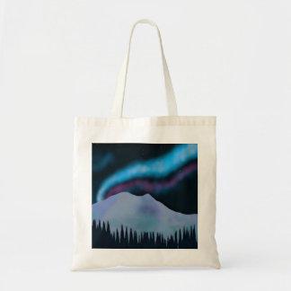 Aurora azul bolsa tela barata