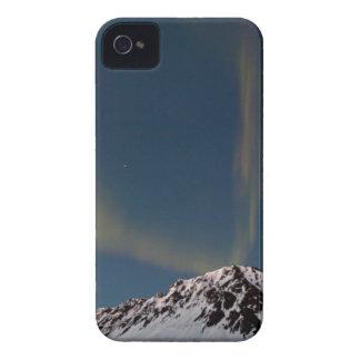 Aurora bands over Marmot Mt @ Hatcher Pass, Alaska iPhone 4 Case-Mate Case