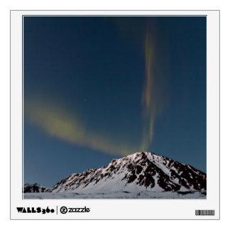 Aurora bands over Marmot Mt @ Hatcher Pass, Alaska Wall Sticker