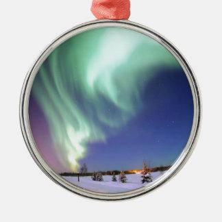 Aurora - Beautiful Northern Lights Metal Ornament