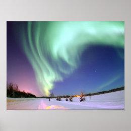 Aurora - Beautiful Northern Lights Poster