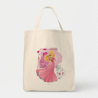 Aurora - bella durmiente bolsa tela para la compra