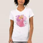 Aurora - bella durmiente camiseta