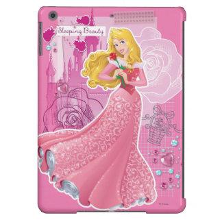 Aurora - bella durmiente funda para iPad air