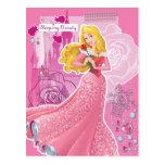 Aurora - bella durmiente postales