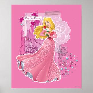 Aurora - bella durmiente póster