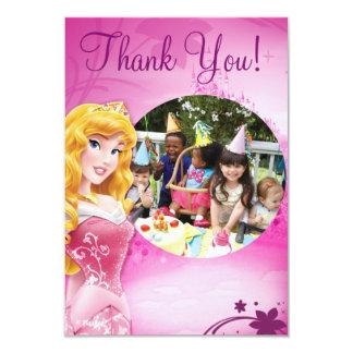 Aurora Birthday Thank You Cards
