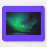 Aurora boreal alfombrillas de ratón