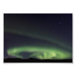 Aurora boreal - aurora Borealis en Islandia Fotografías
