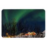 Aurora boreal - aurora Borealis Islandia Imanes