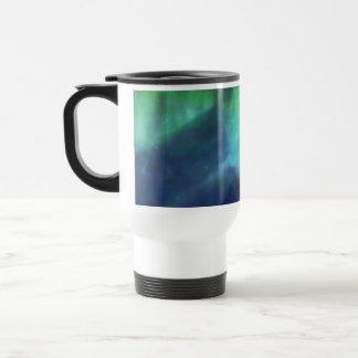 Aurora boreal/aurora Borealis Taza