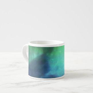Aurora boreal/aurora Borealis Tazas Espresso