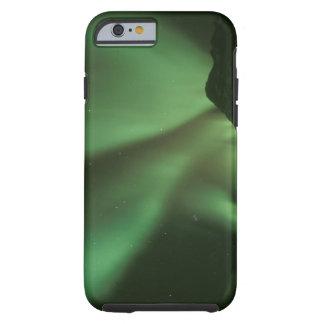Aurora boreal borealis de la aurora en las