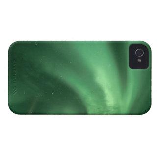 Aurora boreal, borealis de la aurora, sobre las co iPhone 4 Case-Mate protector