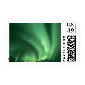 Aurora boreal, borealis de la aurora, sobre las sello