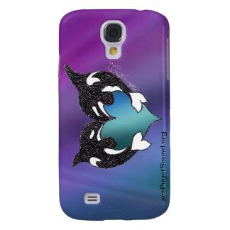 Aurora boreal del amor de la orca