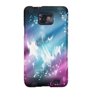 Aurora boreal samsung galaxy SII carcasas