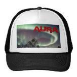 Aurora boreal gorras