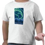 Aurora boreal - Juneau, Alaska Camiseta