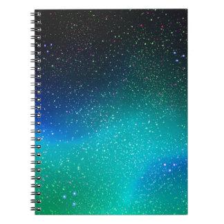 Aurora boreal note book