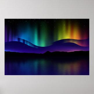 Aurora boreal posters