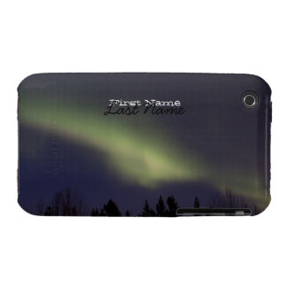 Aurora boreal pacífica; Personalizable Funda Bareyly There Para iPhone 3 De Case-Mate
