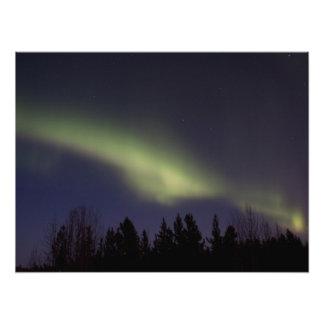 Aurora boreal pacífica fotografías