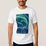 Aurora boreal - parque nacional de Denali, Alaska Camisas