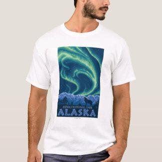 Aurora boreal - parque nacional de Denali, Alaska Playera