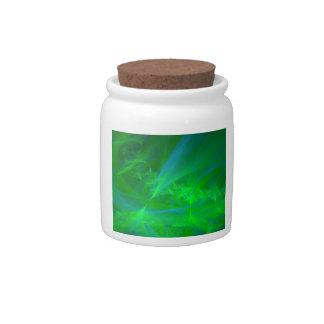 Aurora boreal plato para caramelo