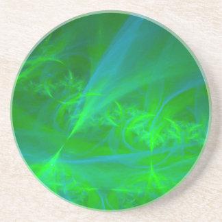 Aurora boreal posavasos personalizados