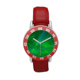 Aurora boreal relojes de pulsera
