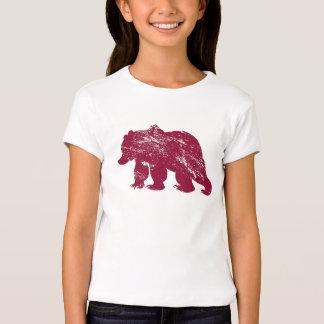 Aurora boreal resistida Kenai del oso de Brother Camisas